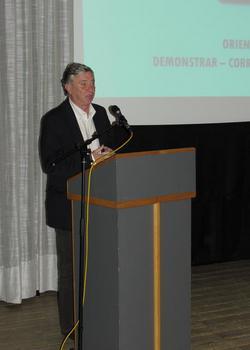 Presidente da FAP, Ulisses Pereira, em Penedono