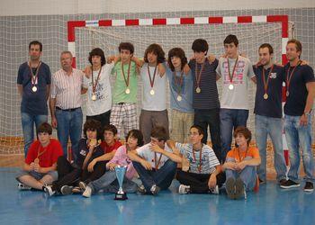 A. Ac. S. Mamede - Campeão Nacional 2ª Divisão Iniciados Masculinos