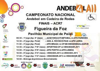 Cartaz Final do Campeonato Nacional de ACR7 a 27 de Junho 2015