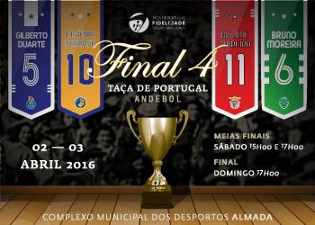 Cartaz Final Four Taça Portugal Fidelidade Seniores Masculinos 2015-2016