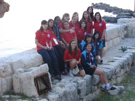 Selecção Nacional Junior B Feminina no 4º Campeonato do Mediterrâneo