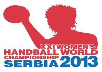 Logo Campeonato do Mundo Seniores Femininos Sérvia 2013