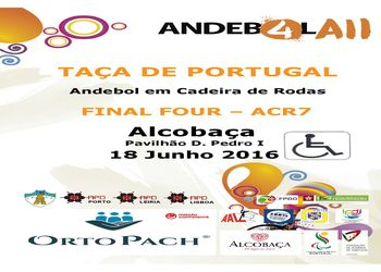 Cartaz Final Four da Taça de Portugal de ACR7
