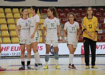 Holanda : Portugal - Campeonato da Europa Sub17 Femininos Macedónia 2015