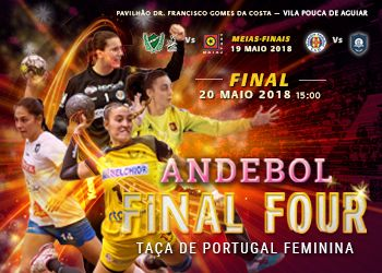 Cartaz Final Four Taça de Portugal Seniores Femininos 2017-2018