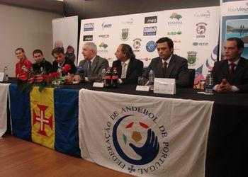 Conferência de Imprensa de apresentação da qualificação para play-off de acesso ao Mundial 2011 seniores femininos