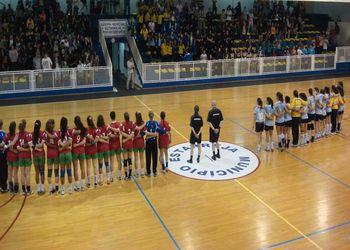 Juniores B femininas no Garci Cup