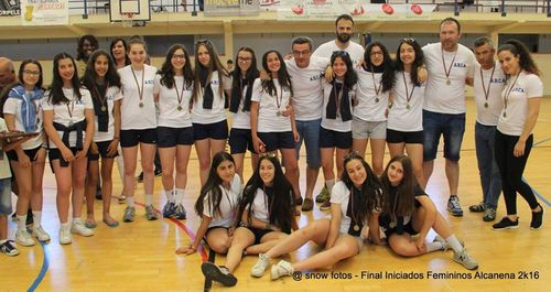 Entrega de prémios - 4º classificado - ARC Alpendorada - Fase final Campeonato Nacional Iniciados Femininos 2015/16