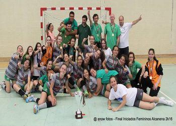 CA Leça - Campeão Nacional de Iniciados Femininos - foto: Luís Neves