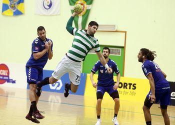 Sporting CP : AC Doukas - 2ª mão - 1/4 final Challenge Cup