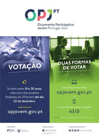 Orçamento Participativo Jovem Portugal (OPJovem) - Votação