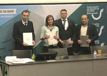 Assinatura Protocolo de Promoção e Prática de Andebol - FAP, Município e Escolas de Rio Maior