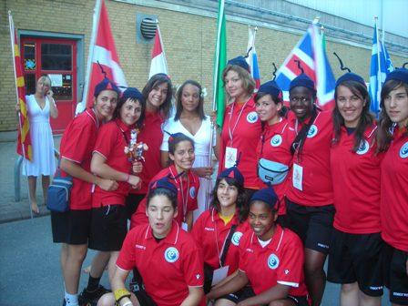 Selecção Nacional Juniores B Femininas - Apresentação das Selecções no European Open
