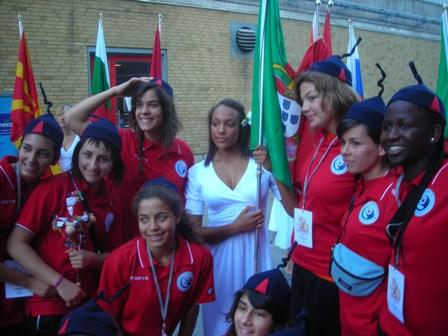 Selecção Nacional Juniores B Femininas - Apresentação das Selecções no European Open 2