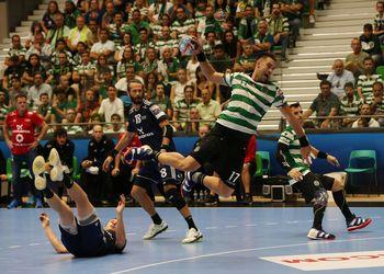 Tiago Rocha - Sporting CP : Bjerringbro-Silkeborg - Velux EHF Champions League - foto: PhotoReport.In