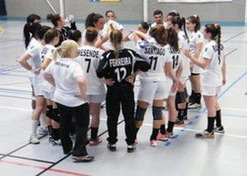 Seleção nacional Juniores B feminina em França - 15 Julho 2014