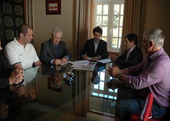 Assinatura de Protocolo de Parceria entre a Federação e a Câmara Municipal de Baião