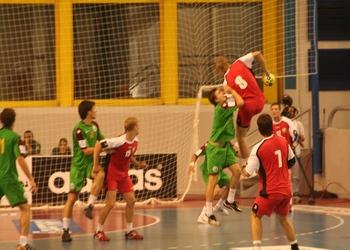 Portugal : Bielorússia - Campeonato Mundo Sub-21 masculinos Egipto 2009