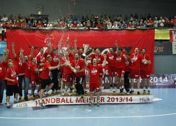Alpla HC Hard - campeão da Áustria 2013-14