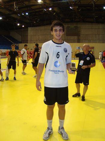 Portugal : Montenegro - Melhor Jogador - António Ventura - Campeonato Europeu Sub-18 Montenegro 2010