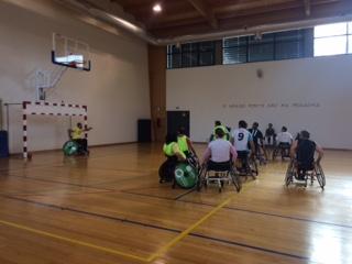 Estágio Selecção Nacional de Andebol em Cadeira de Rodas