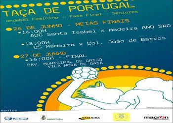 Cartaz Taça de Portugal Seniores Femininos 2009-10