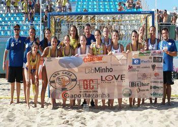 GRD LEÇA - apostaganha.com - EHF Beach Champions Cup 2018