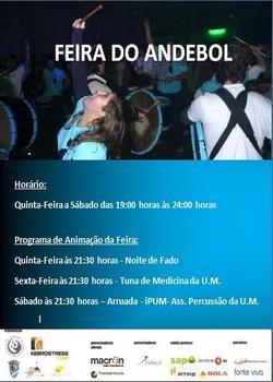 Cartaz Feira do Andebol