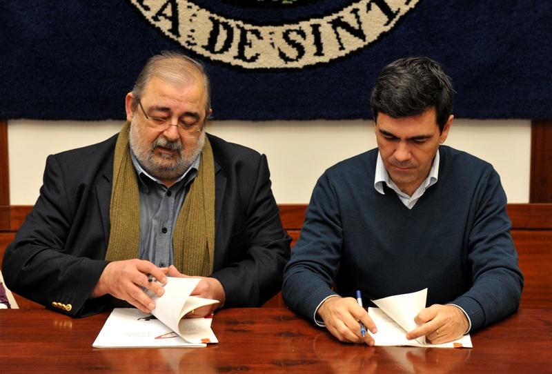 Assinatura de Contrato-Programa de Desenvolvimento Desportivo com a Câmara Municipal de Sintra - 18.12.2012