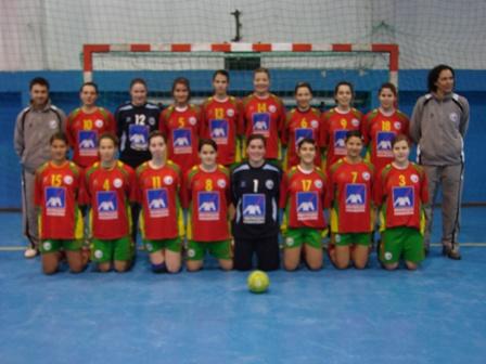 Selecção Junior C Feminina 2007/08
