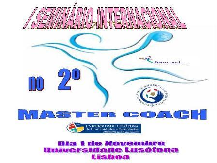 Cartaz I Seminário Internacional