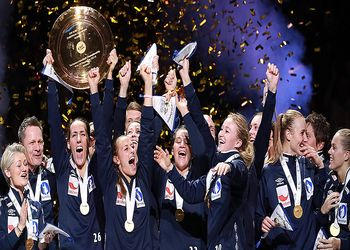 Noruega campeã europeia seniores femininos 2016