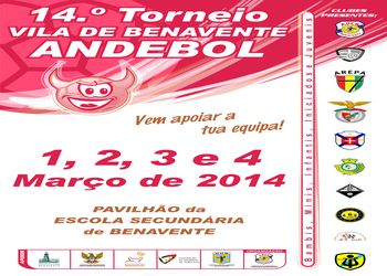 Cartaz do Torneio de Benavente