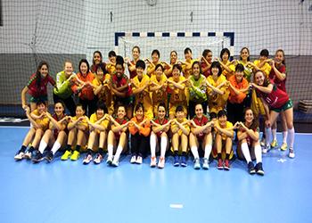 Portugal : Japão - jogo amigável - Sub20 Femininas