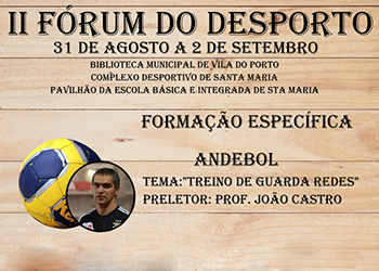 Cartaz II Fórum do Desporto 2017