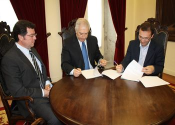 Assinatura do protocolo com a Câmara Municipal de Barcelos