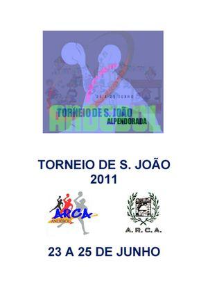 Cartaz Torneio de S. João 2011 - Alpendorada