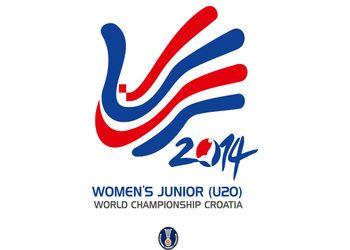Logo Campeonato do Mundo Sub20 Femininos Croácia 2014