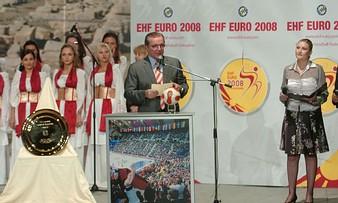 Sorteio da Fase de Grupos do Europeu Seniores Femininos Macedónia 2008