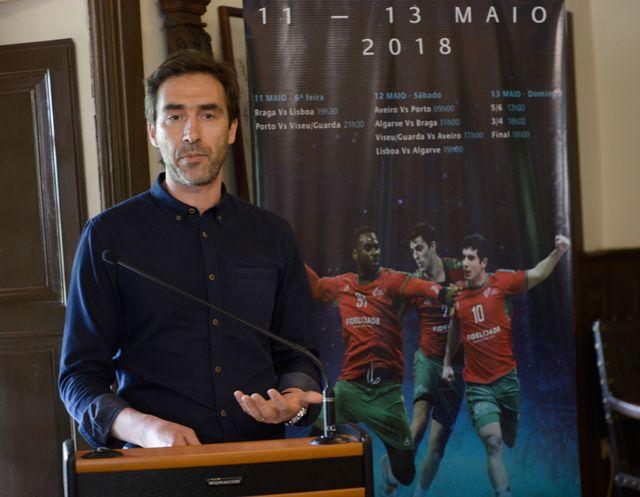 Apresentação da Fase Final Torneio Nacional Seleções Regionais Iniciados Masculinos 2017/2018