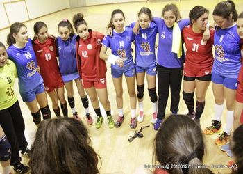 Juve Lis : Jac-Alcanena - Campeonato Nacional Juvenis Femininos - foto: Luís Neves