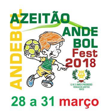 Cartaz Azeitão Andebol Fest 2018