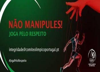 Cartaz Não Manipules! Joga pelo Respeito