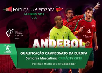 Cartaz Portugal - Alemanha - 14.06.17