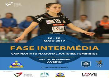 Cartaz Fase de Apuramento do Campeonato Nacional de Juniores Femininos