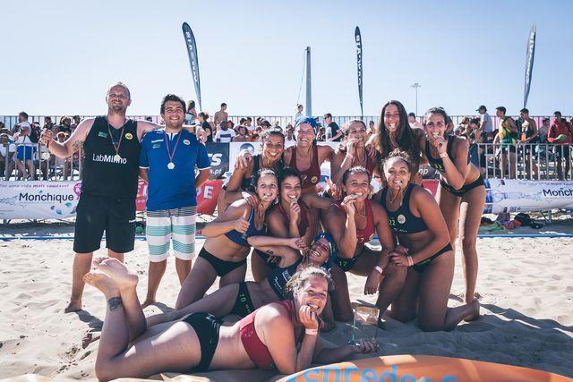 Os Gordos -Clube Naval Leça - campeões nacionais seniores femininos 2016/17 - foto - Márcio Menino