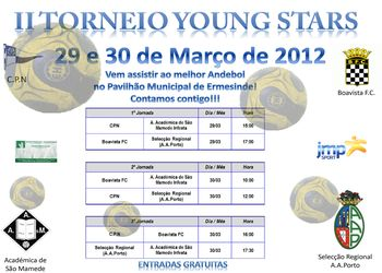 Cartaz 2º Young Stars 2012