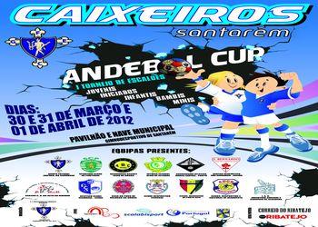 Cartaz I Torneio Caixeiros / Santarém Andebol Cup