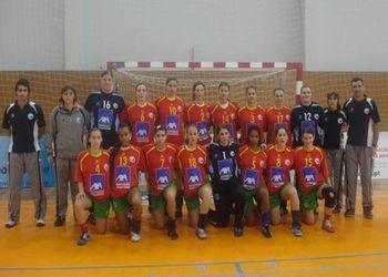 Selecção Nacional Junior A Feminina 2007/ 2008