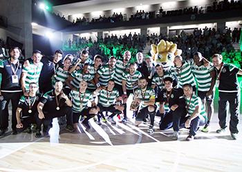 Campeonato Andebol 1 - Época 2017/2018 - Sporting CP : AC Fafe - Taça de Campeão